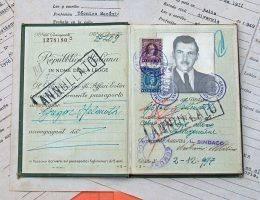 Paszport wykorzystany przez Mengelego do ucieczki za ocean.