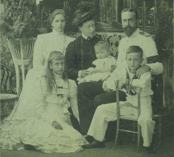 Portret rodziny Battenbergów.