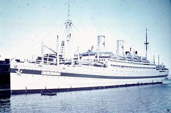 """Podczas II wojny światowej """"Berlin"""", czyli późniejszy """"Nachimow"""", służył jako okręt szpitalny."""