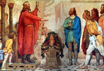 Przez nieudolność Ethelreda II na angielskim tronie zasiadł Swen Widłobrody.