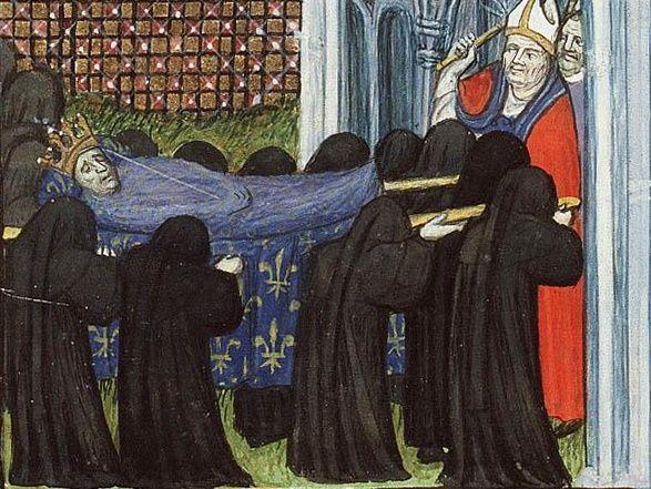 Przed opracowaniem metod balsamowania pogrzeby – nawet pogrzeby królów – odbywały się w pewnym pośpiechu. Istotne było, by nie pokazywać szerszej publiczności ciała, które zaczyna się rozkładać