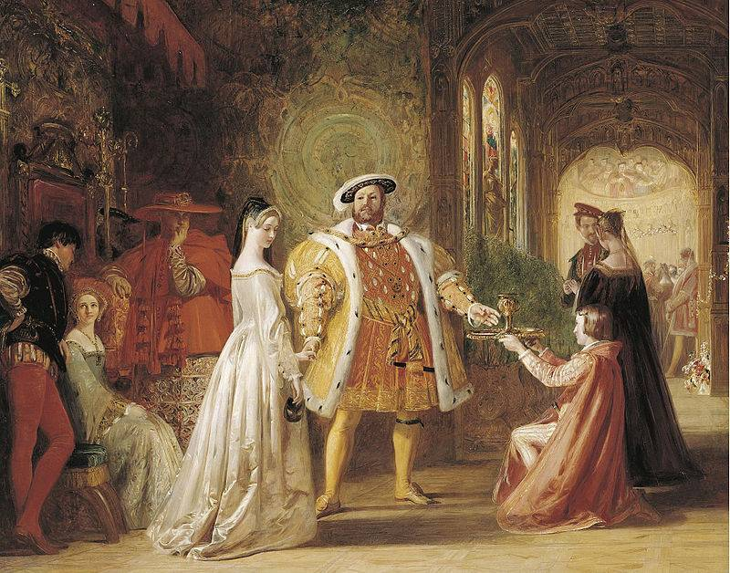 Henryk VIII wkładał dużo wysiłku w zapewnienie sobie następcy