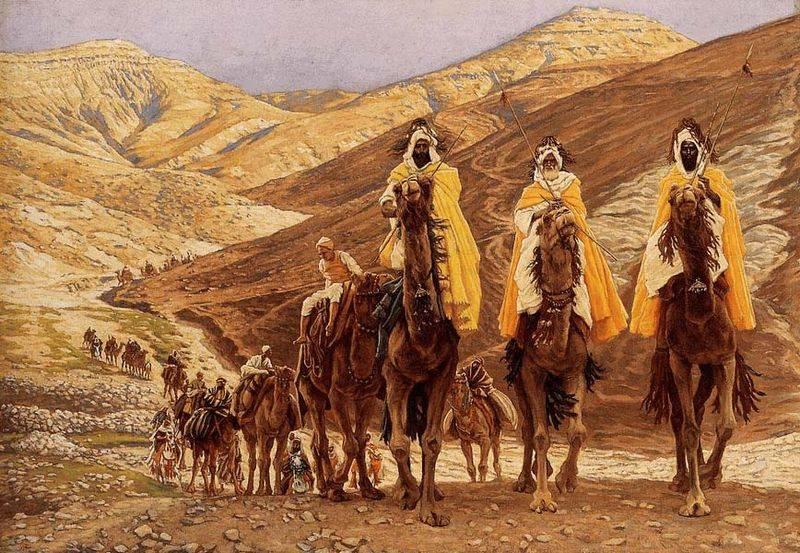 Trudno ustalić, skąd pochodzili Trzej Królowie.