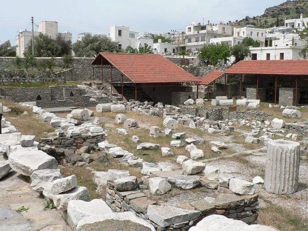 Pozostałości po mauzoleum