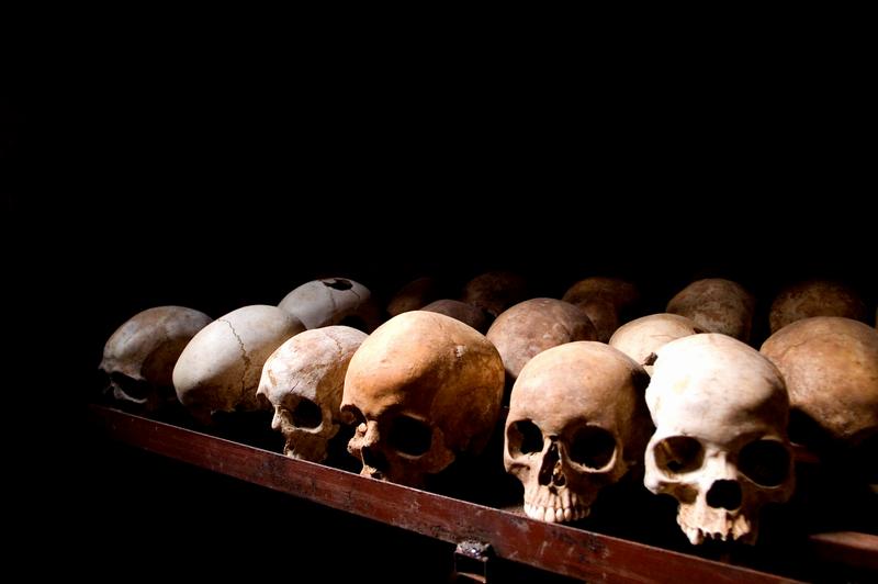 Ofiary ludobójstwa w Rwandzie