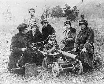 Polki chciały walczyć o niepodległość z bronią w ręku, jednak mężczyźni widzieli to inaczej...