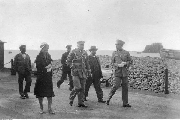 Piłsudski z Lewicką na Maderze
