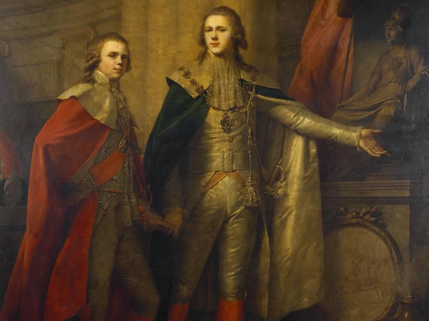 Konstanty i Aleksander Romanowowie