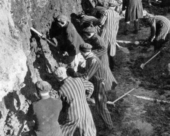 Robotnicy przymusowi w obozie Sachsenhausen