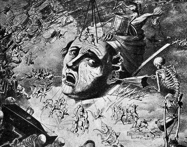 W starożytnym Babilonie wierzono, że za chorobę odpowiedzialne są demony lub robaki mieszkające w zębach