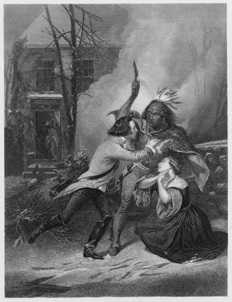 Koloniści z Europy straszyli dzieci opowieściami o okrucieństwie Indian