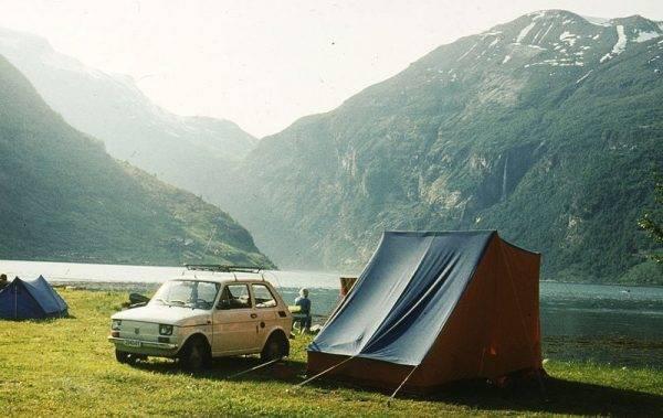 Maluchem można było pojechać w naprawdę daleką podróż - np. do Norwegii.