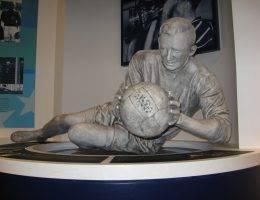 Rzeźba Berta Trautmanna w Muzeum w Manchesterze