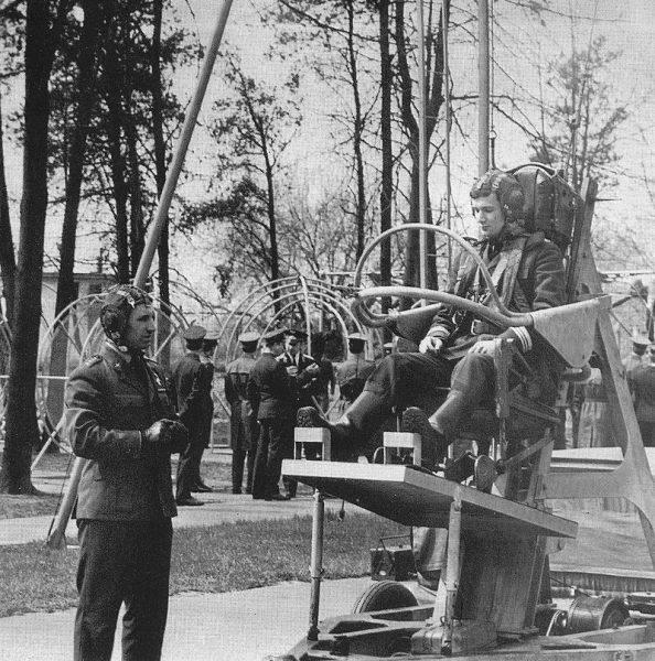Trening pilotów w latach 70.