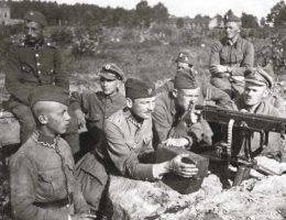 Podczas wojny polsko-bolszewickiej żołnierze pili zarówno na froncie, jak i na tyłach. Często z nudów...