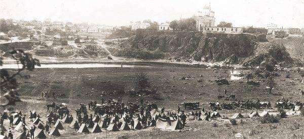 Polscy żołnierze pod Kijowem w 1920 roku