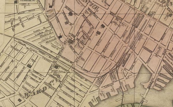 W wieku 6 lat Jane została oddana do sierocińca nazywanego Bostońskim Azylem Kobiecym w South End (na mapie).