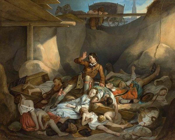 Dżuma wielokrotnie nawiedzała ludzkość, dziesiątkując populację.