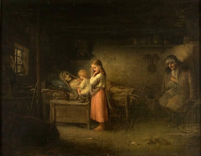 Wielu chłopów pod zaborami żyło w skrajnej nędzy.