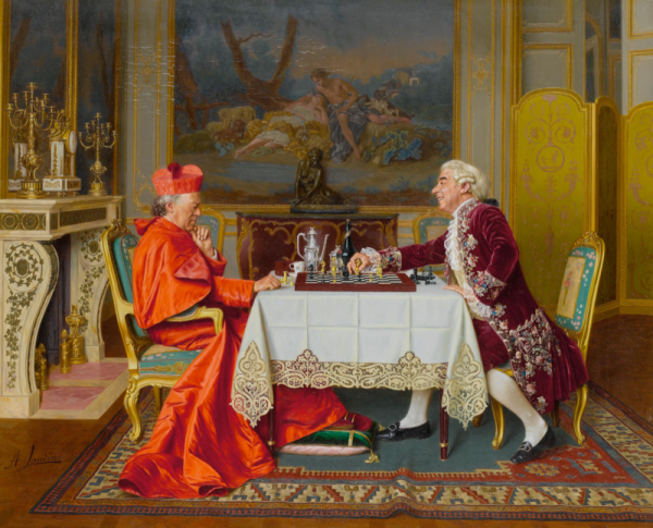 Prawdziwa moda na szachy nastąpiła w epoce renesansu, szczególnie w Hiszpanii i Włoszech