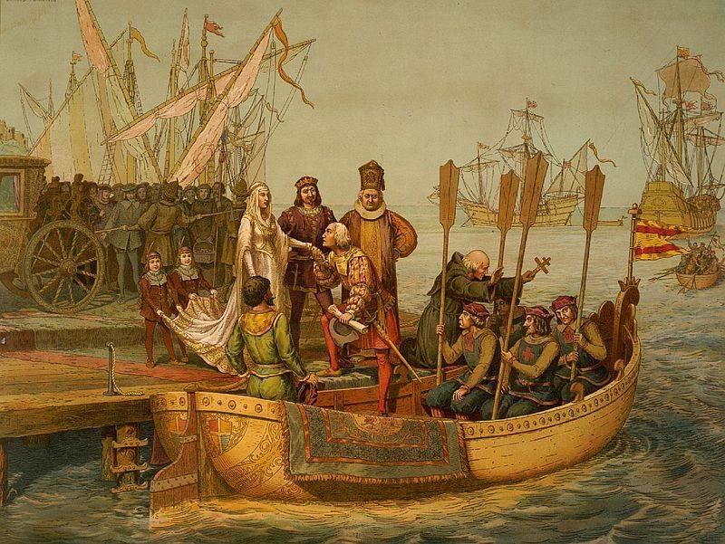 Kolumb wrócił do Hiszpanii jako triumfator, choć rdzenna ludność Ameryki z pewnością nie podzielała jego entuzjazmu
