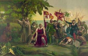 Pojawienie się Kolumba na wybrzeżu Nowego Świata zapoczątkowało szokująco szybki proces bezlitosnego dziesiątkowania lokalnej ludności.