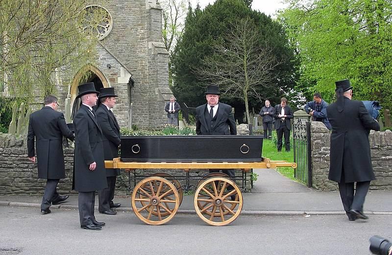 Pogrzeb Johna Horwooda w 2011 roku - 190 lat po jego śmierci...