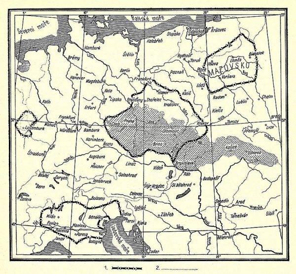 Ziemie pod kontrolą Jana Luksemburskiego