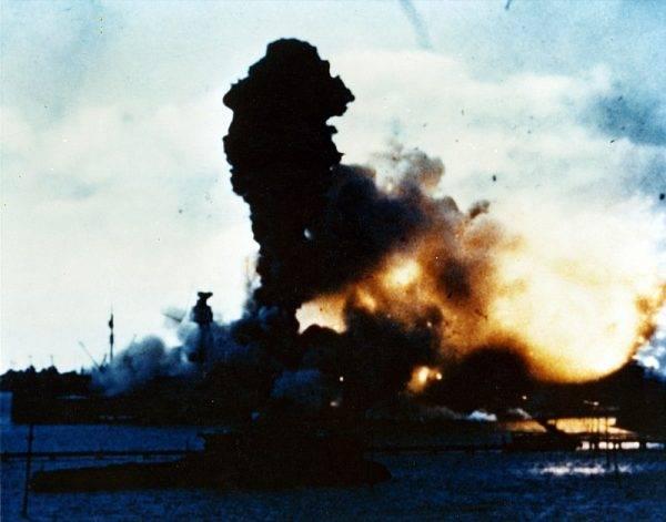 W grudniu 1941 roku Amerykanie dali się zaskoczyć Japończykom.