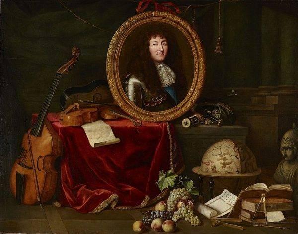 Sztab hojnie opłacanych artystów dbał o odpowiedni wizerunek władcy.