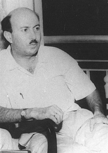 Wadie Haddad w Syrii około 1970 roku