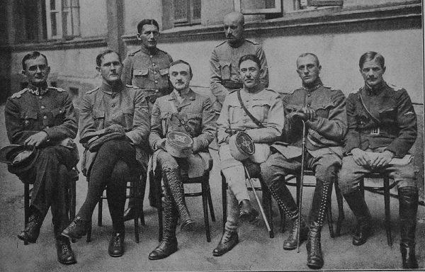 Zjazd dowódców grup lotniczych w 1919 roku.