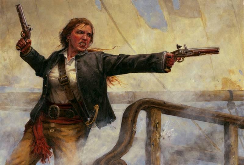 Kobiety na morzu zajmowały się m.in. piractwem - jak Anne Bonny