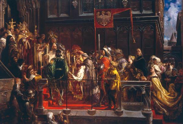 Wielkim amatorem barszczu był król Władysław Warneńczyk (na il. chrzest Warneńczyka w 1425 roku na obrazie Jana Matejki).