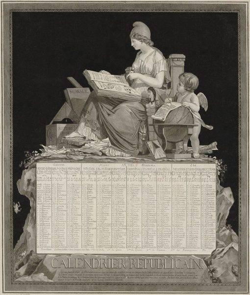 Francuski kalendarz rewolucyjny na rok II (1793–1794)