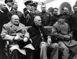 Wielka trójka: Józef Stalin, Franklin D. Roosevelt i Winston Churchill