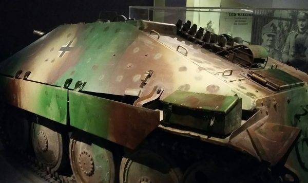 Hetzer z Bastogne War Museum