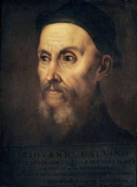 Jan Kalwin na obrazie Tycjana.
