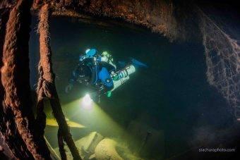 Podczas wrześniowej wyprawy zespół Batlictech pod przewodnictwem Tomasza Stachury odnalazł niemiecki parowiec Karlsruhe