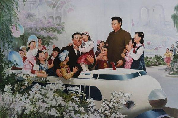 Przerobienie dzieciństwa Kim Ir Sena na rewolucyjną modłę było istotnym elementem działań propagandowych.
