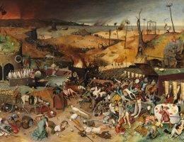 """Ludzkość zna dżumę od tysiącleci, jednak dopiero Tatarzy wpadli na to, by wykorzystać ją w charakterze broni biologicznej (na il. """"Triumf Śmierci"""" Petera Breughela Starszego."""