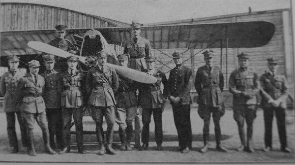 7 eskadra myśliwska im. Tadeusza Kościuszki we wrześniu 1920 we Lwowie, jej dowódcą krótko był Ludomił Rayski.