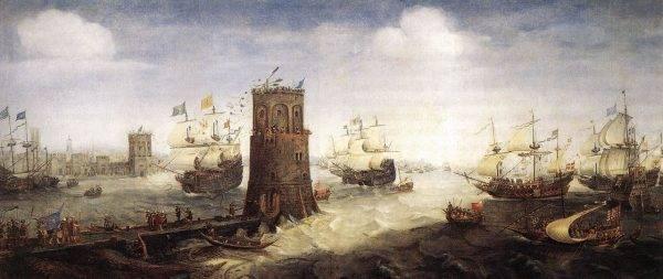 Oblężenie Damietty podczas piątej krucjaty