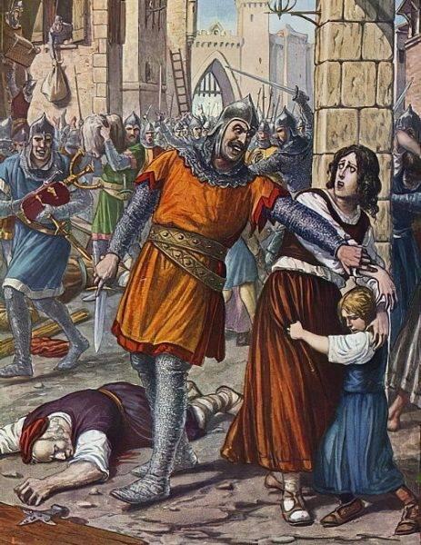 Zemsta Justyniana była okrutna.