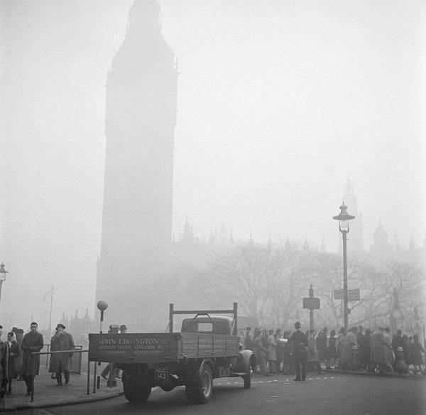 Tragedia w 1952 roku spowodowała, że w Wielkiej Brytanii poważnie zajęto się kwestią zanieczyszczeń środowiska.