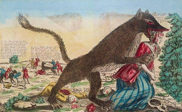 Lato 1764 roku obfitowało w ataki bestii.