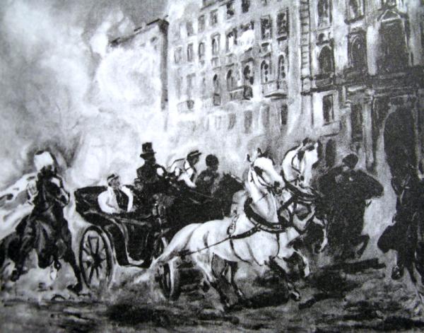 Nieudana próba zamachy na Fiodora Berga zorganizowana przez powstańców w 1863 roku.
