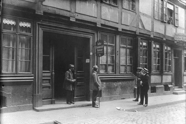 Budynek, w którym znajdowało się mieszkanie rzeźnika z Hanoweru.