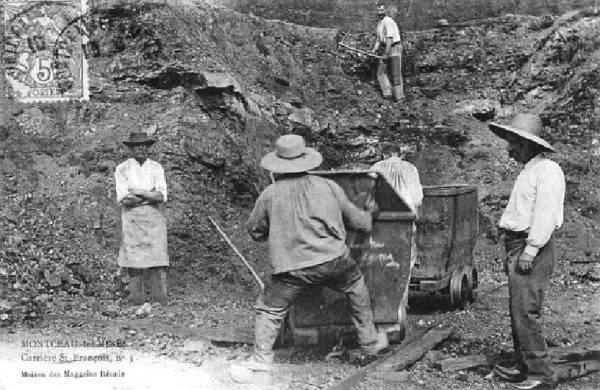 Rodzice Mimi przeprowadzili się do Montceau-les-Mines we Francji z początkiem lat dwudziestych. Jej ojciec został tam górnikiem (il. poglądowa).