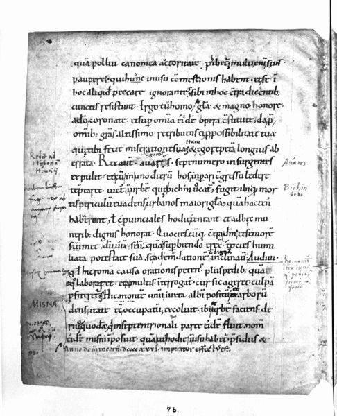 Bitwa pod Cedynią właściwie przypadkiem znalazła się w zapisach kronikarskich Thietmara (na zdj. jedna ze stron jego Kroniki), ponieważ jego ojciec brał w niej udział.